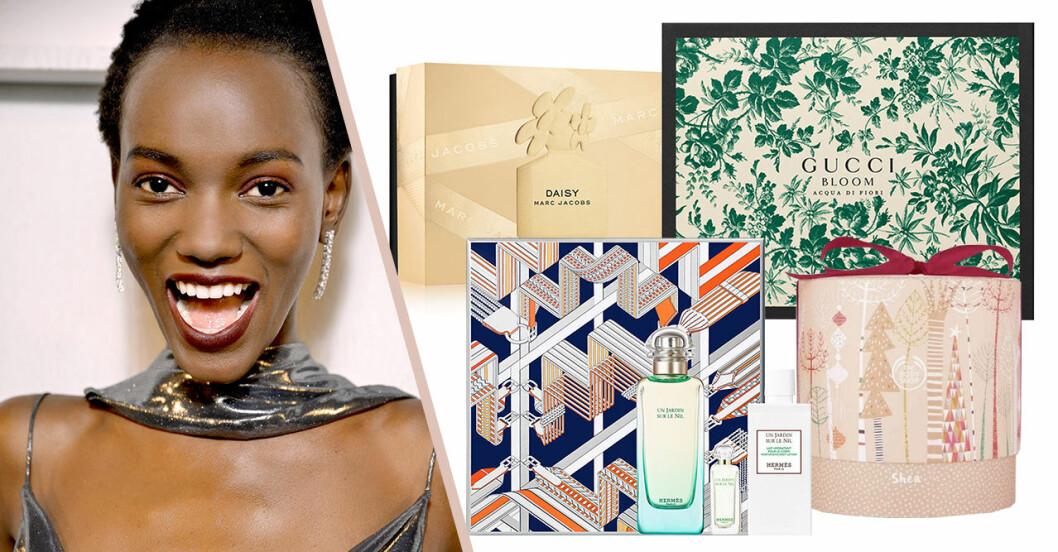 Presentbox med skönhetsprodukter