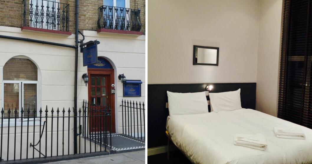 Hotell Princess i London