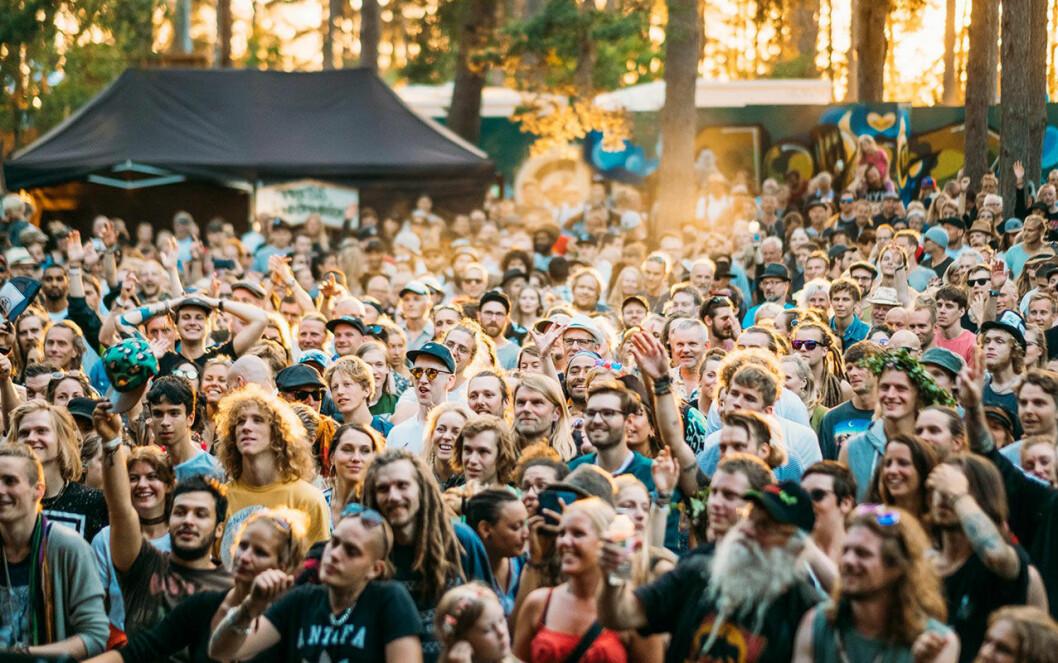 Underbart väder och stor publik på festivalen