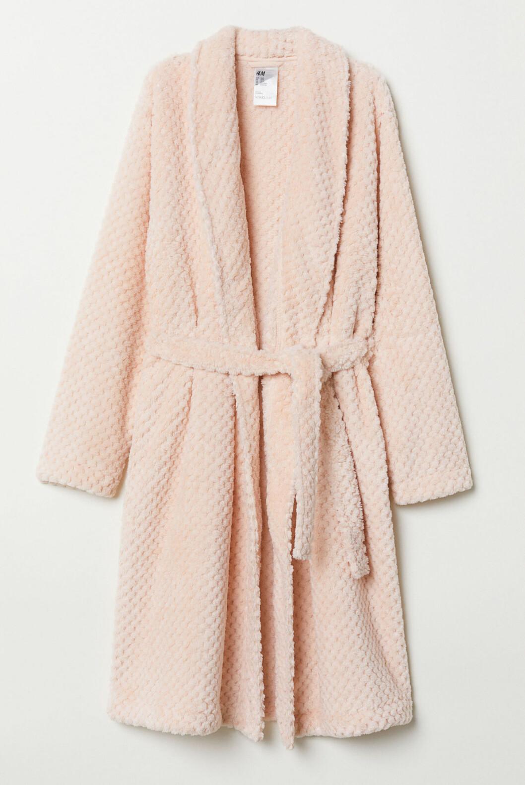 Rosa morgonrock till vintern