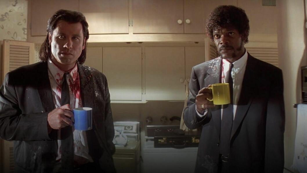 John Travolta och Samuel L Jackson i Pulp Ficton