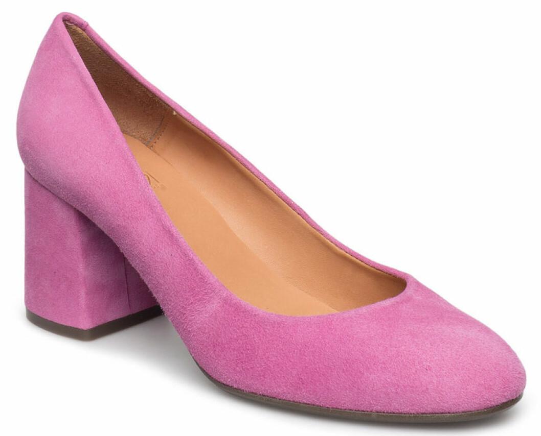 pumps rosa bred klack
