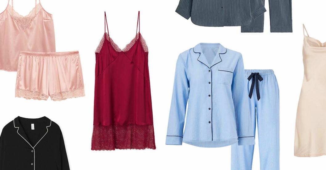 Pyjamas, nattlinnen och sovkläder för dam