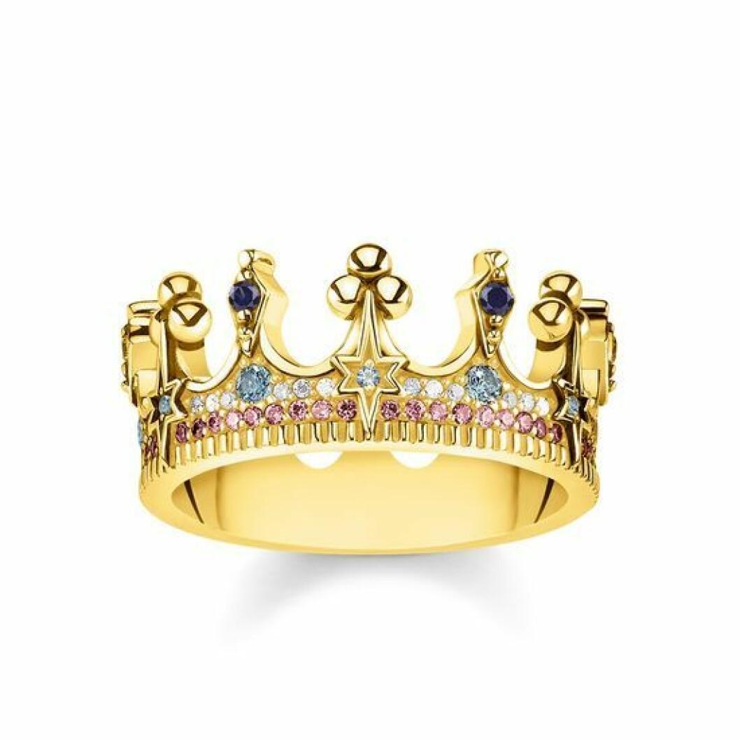 Ring med krona