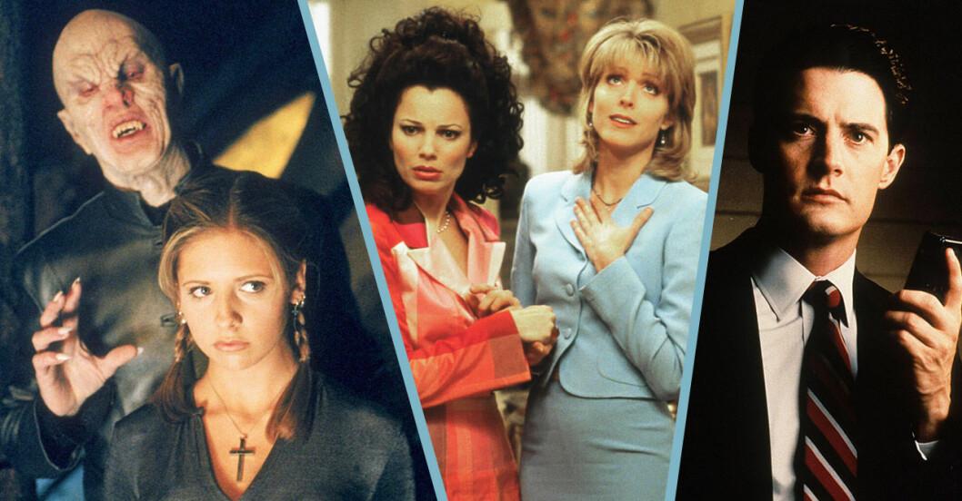 Quiz: Vad minns du från 1990-talets tv-serier
