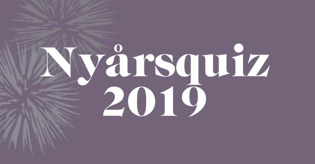 Nyårsquiz 2019: Färdigt musikquiz om året som gått