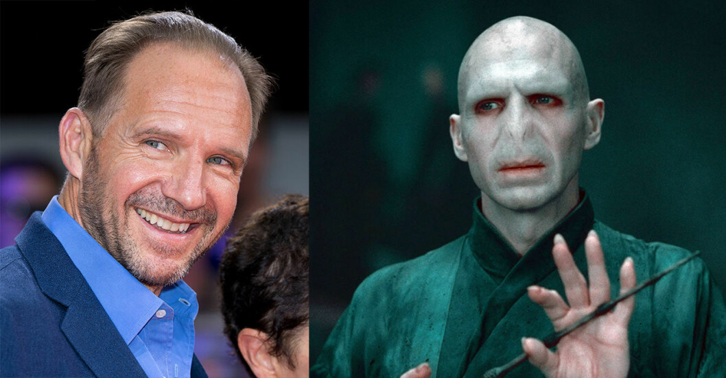 Ralph Fiennes i Harry Potter