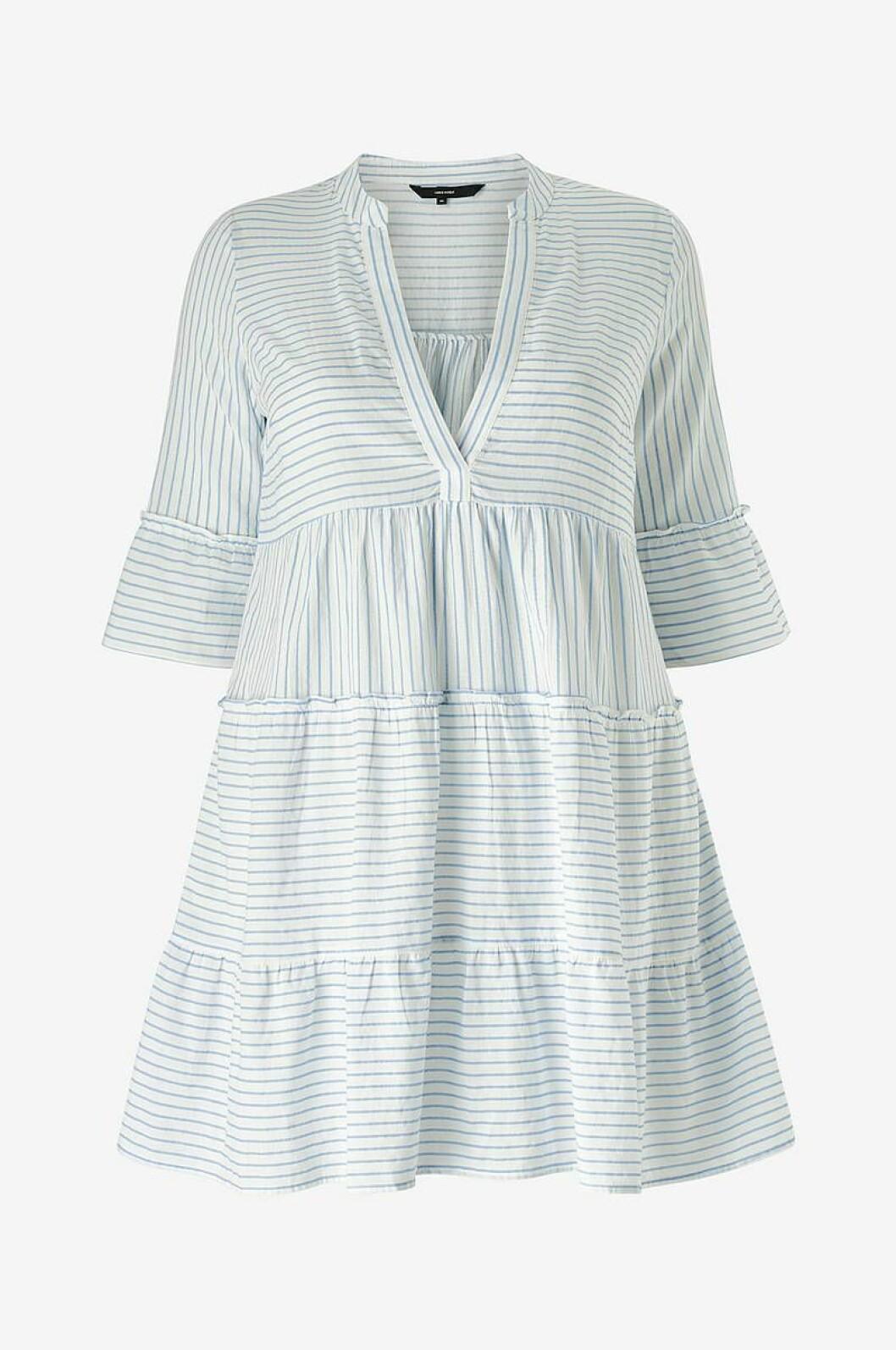 Ljusblå strandklänning för dam till 2020