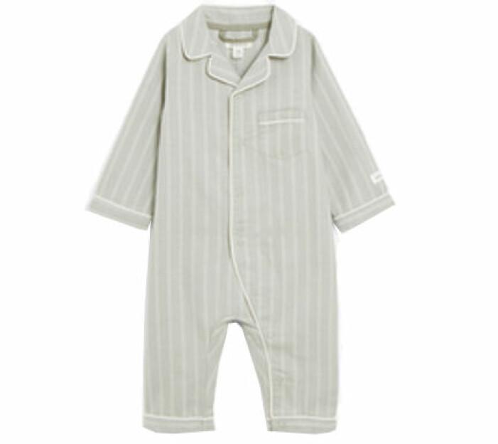 Randig pyjamas från Newbies limited edition.