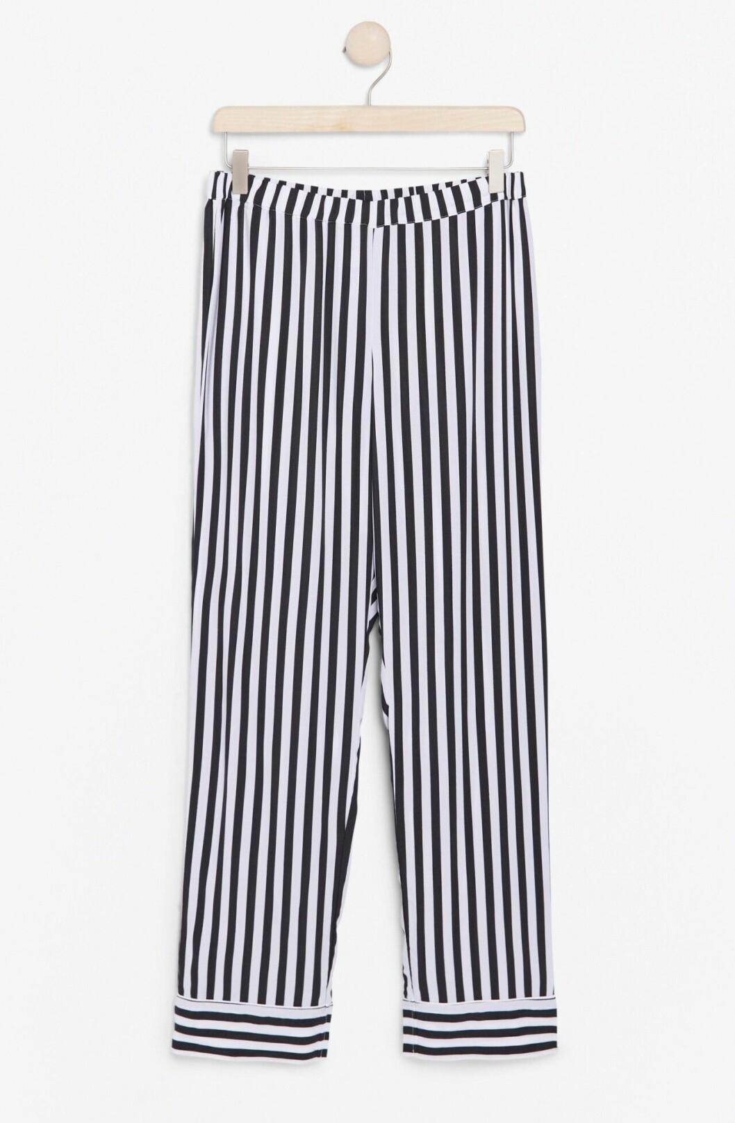 Randiga pyjamasbyxor för dam