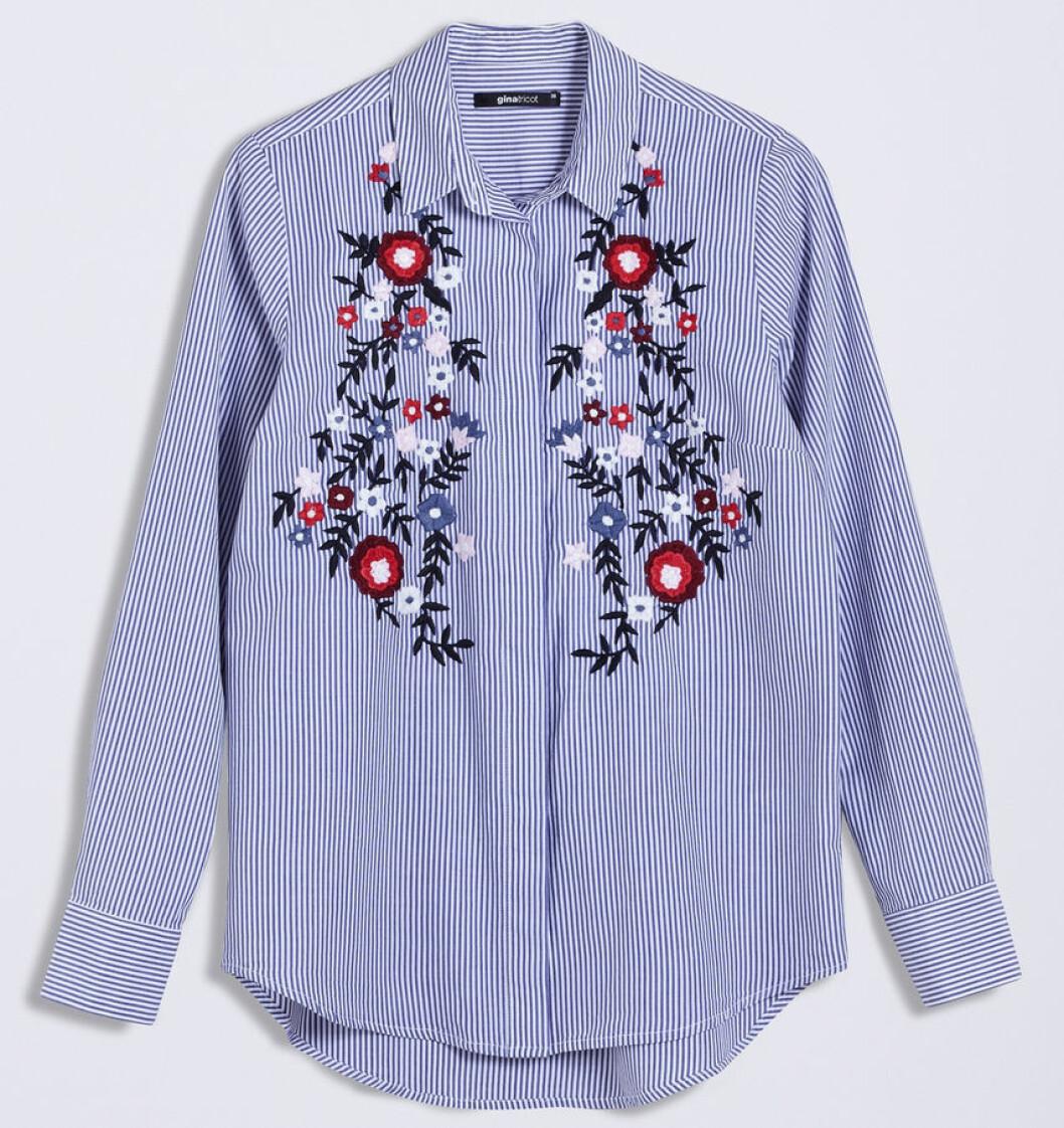 randig skjorta gina tricot