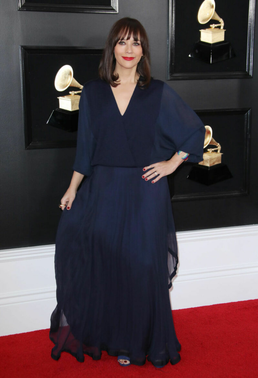 Rashida Jones på Grammy Awards 2019