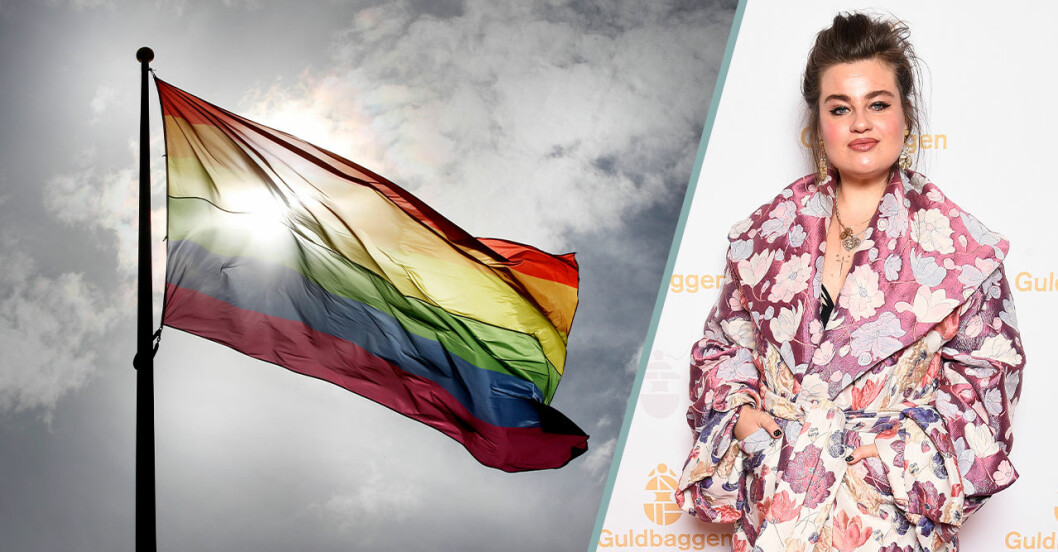 Starka reaktioner efter att Prideflaggan stoppas i Hörby