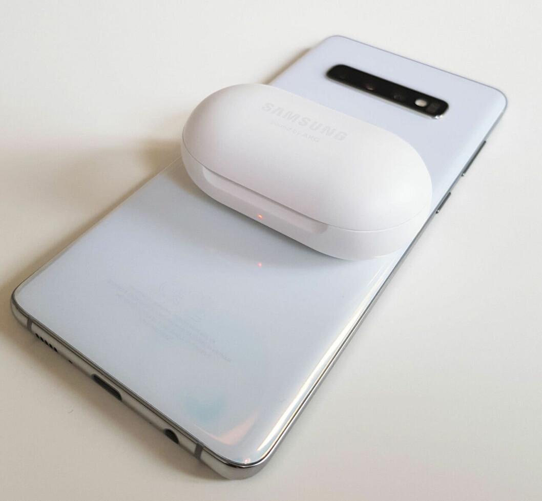 Kompisladda med Samsung S10+