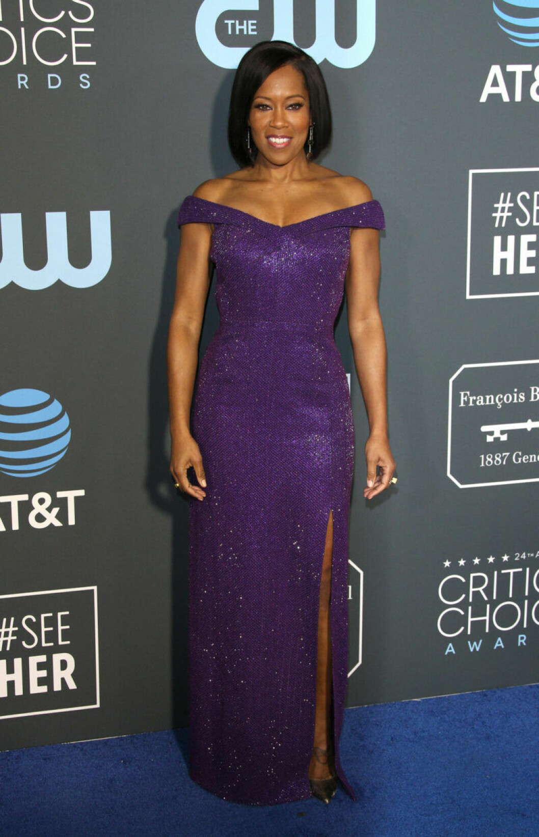 Regina King på röda mattan på Critics Choice Awards 2019