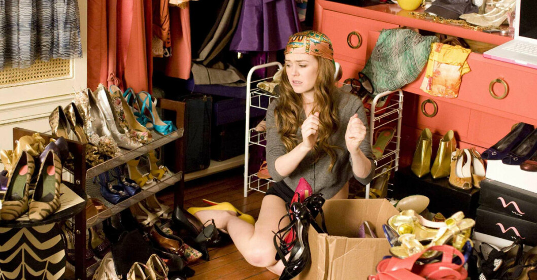 rensa garderoben tips