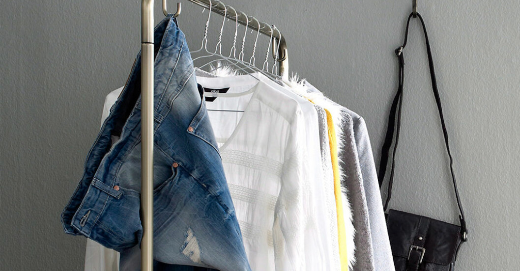 rensa kläder