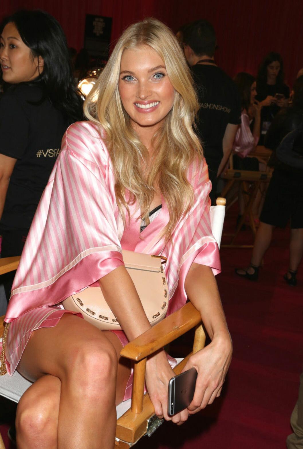 Victoria's Secret backstage 2015 elsa hosk