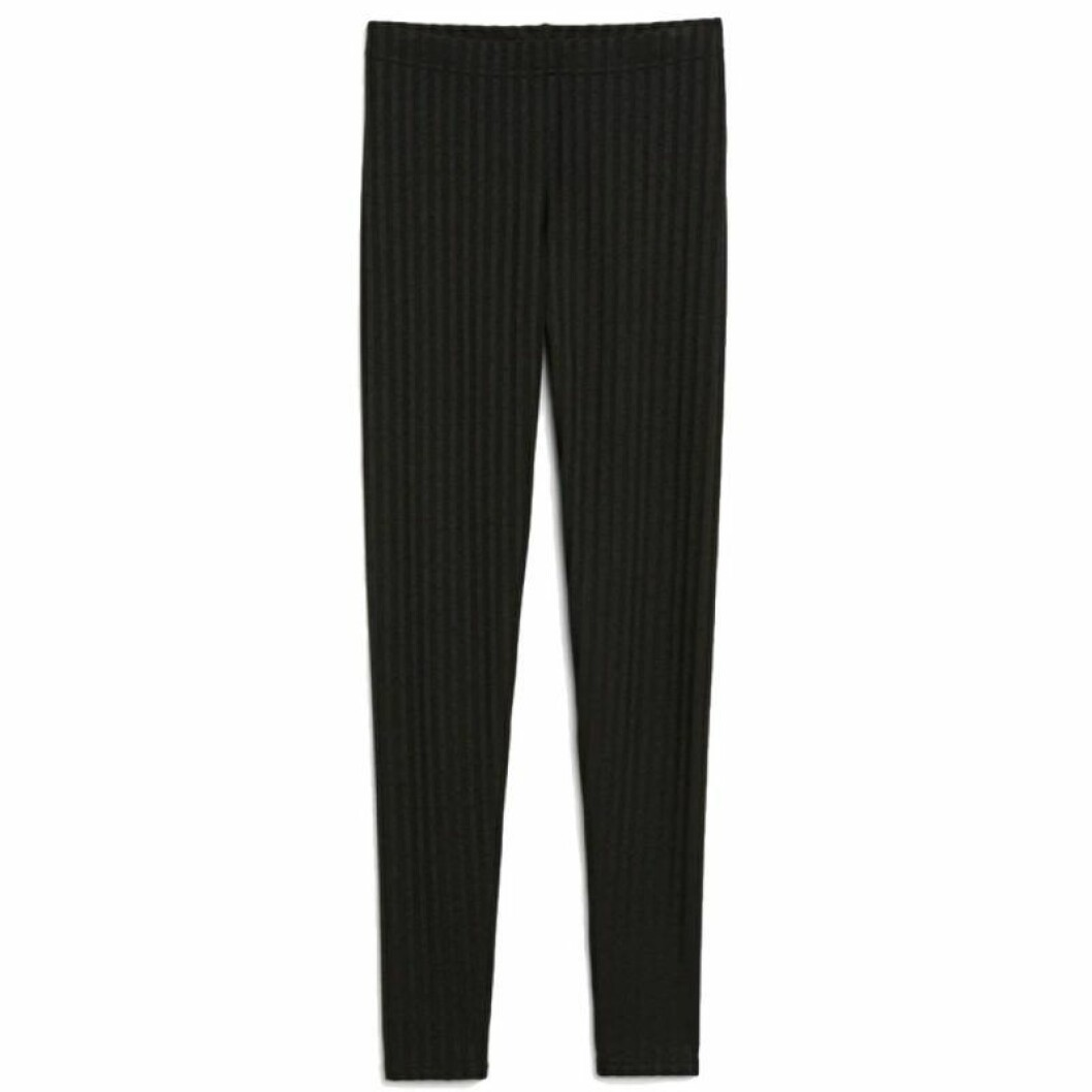 Ribbade leggings från Monki