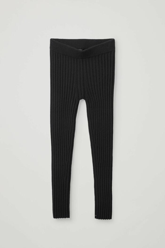 ribbstickade leggings Cos