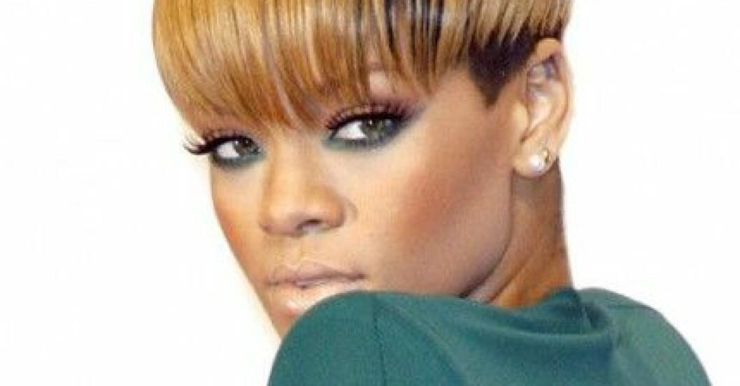 Rihanna på ECHO Awards i Berlin den 4 mars 2010.