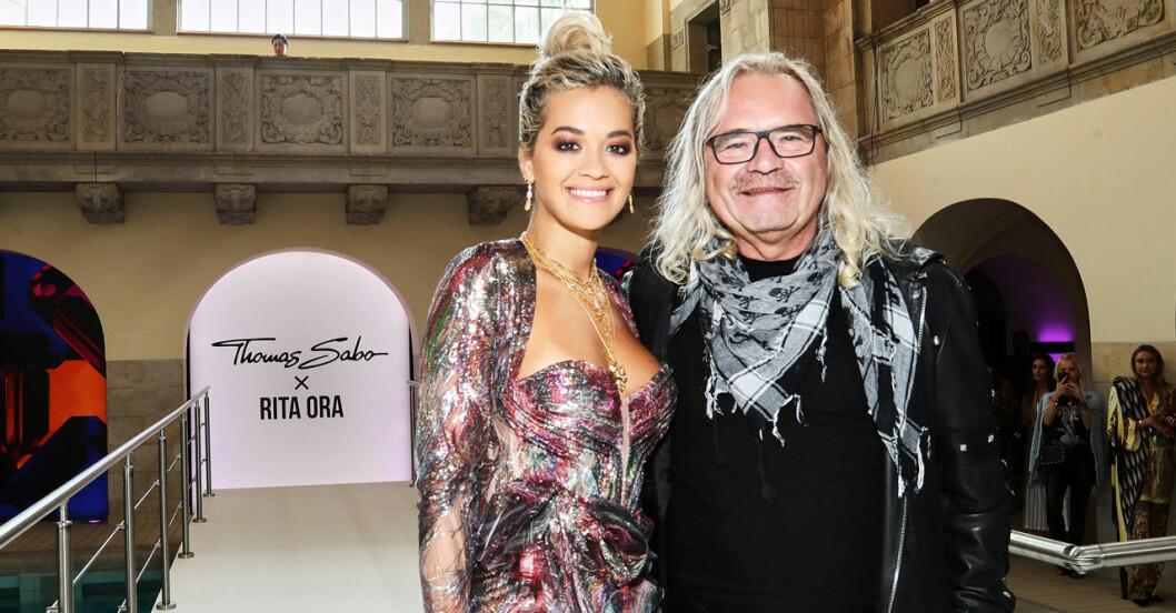 Rita Ora och Thomas Sabo