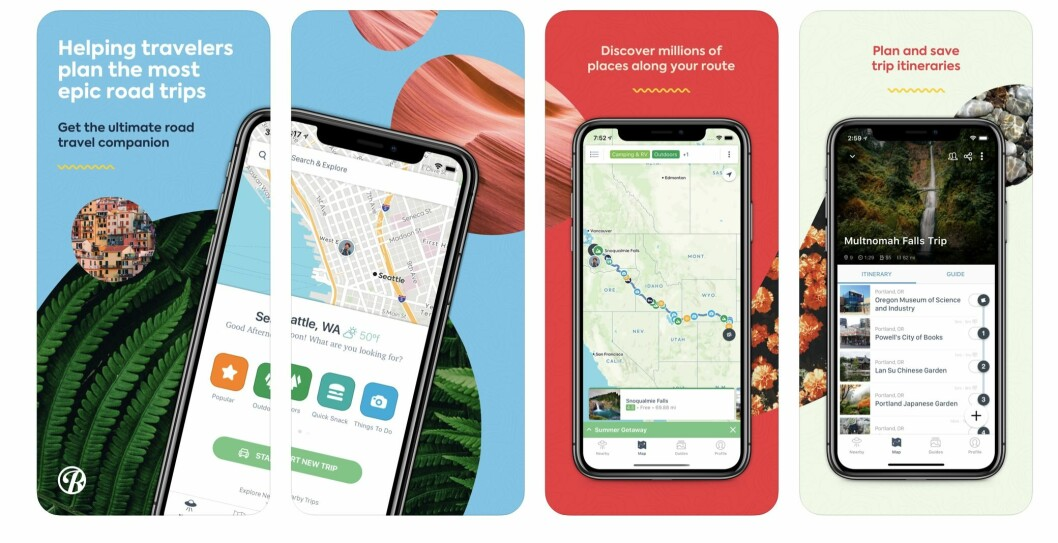 roadtrippers app