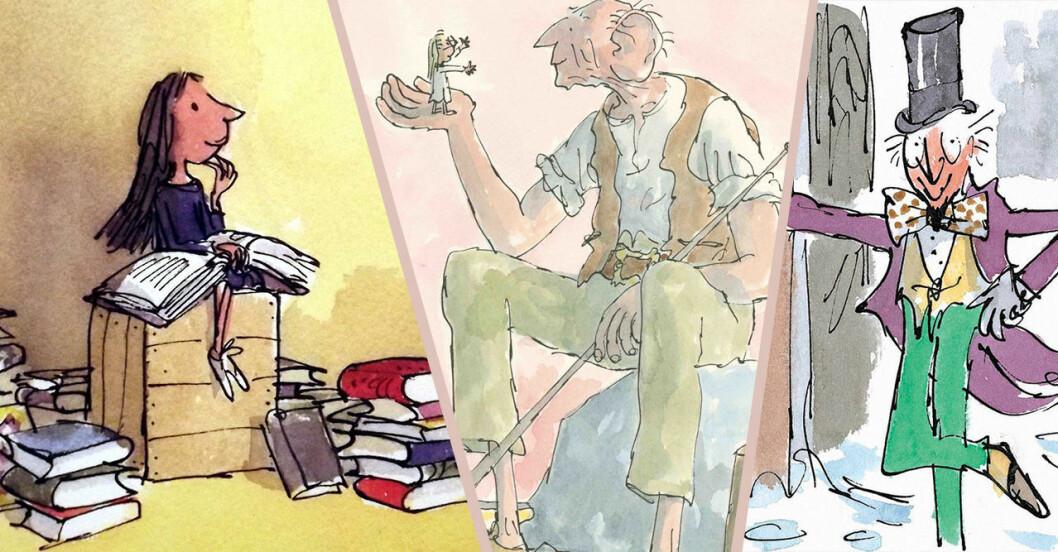 Roald Dahl-böcker blir filmer på Netflix