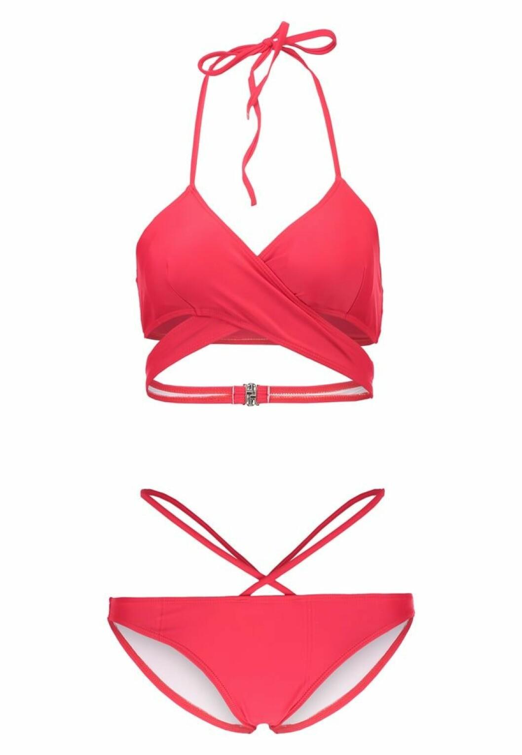 röd bikini 2017 missguided
