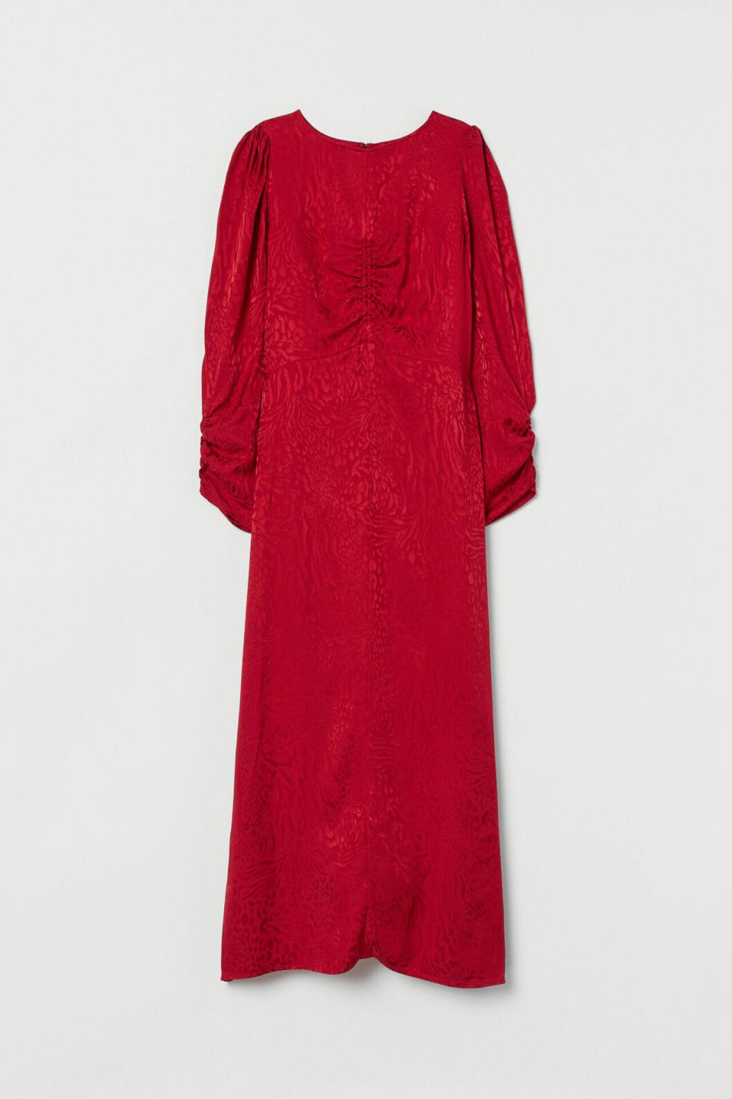 Röd festklänning för dam till hösten 2019