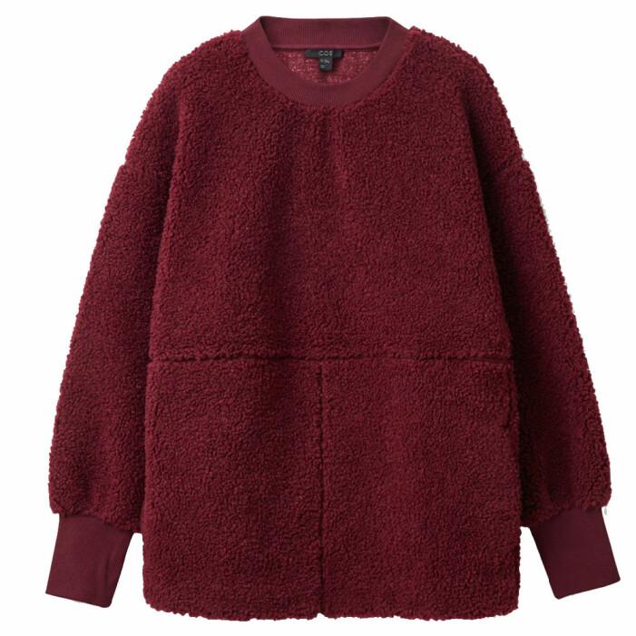 röd fleece cos