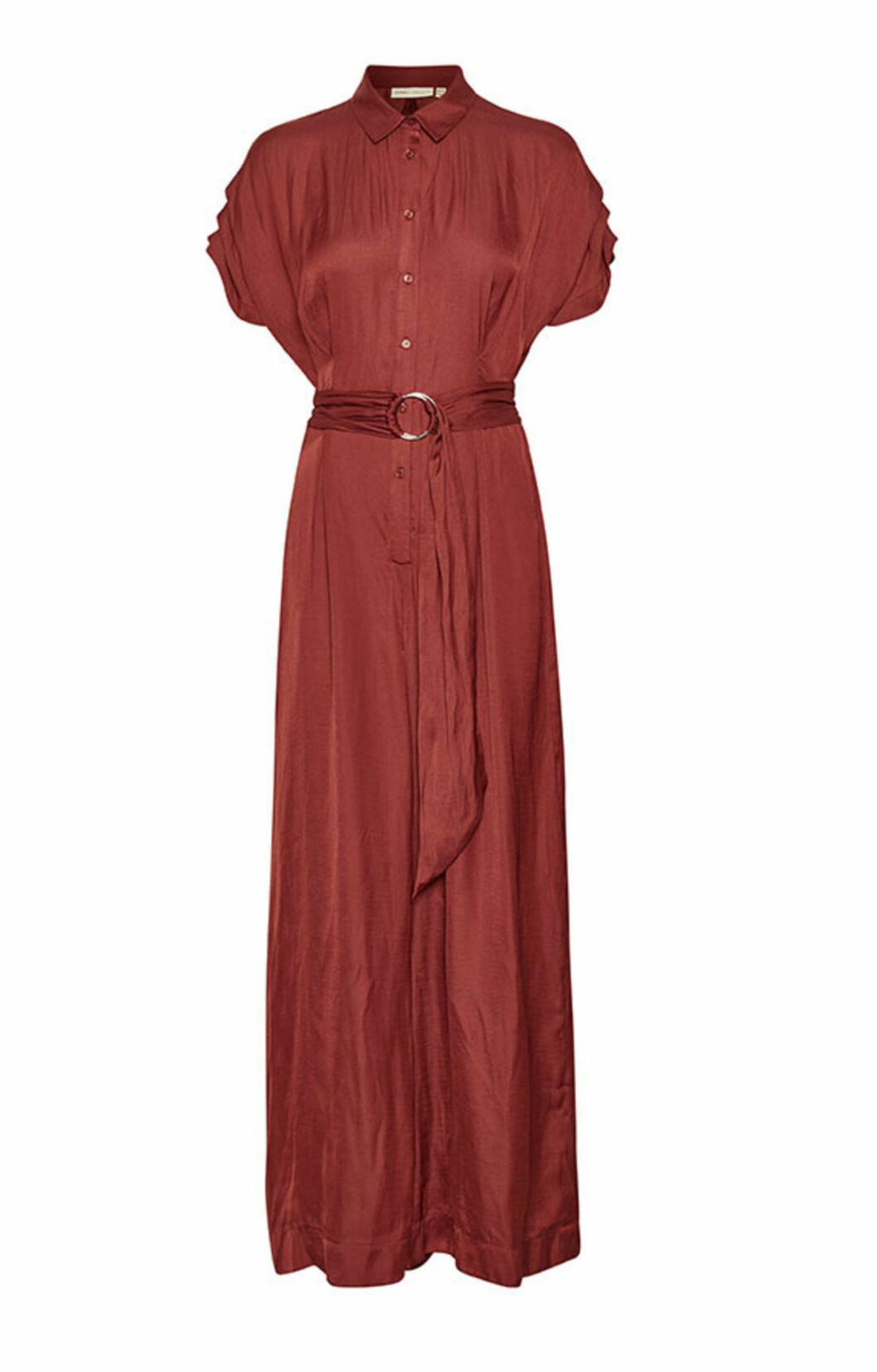 Röd jumpsuit för dam till festen 2019