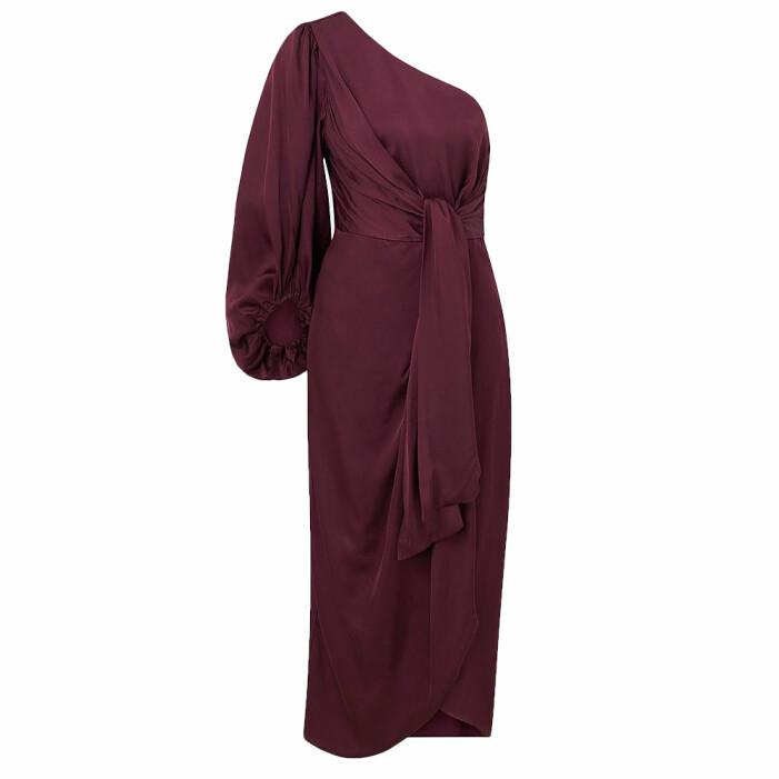 Röd klänning från By Malina