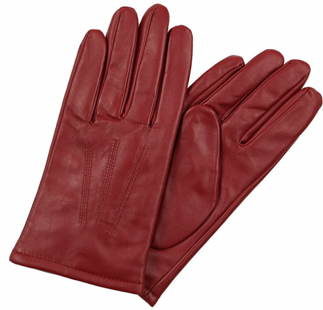 röda handskar j lindeberg