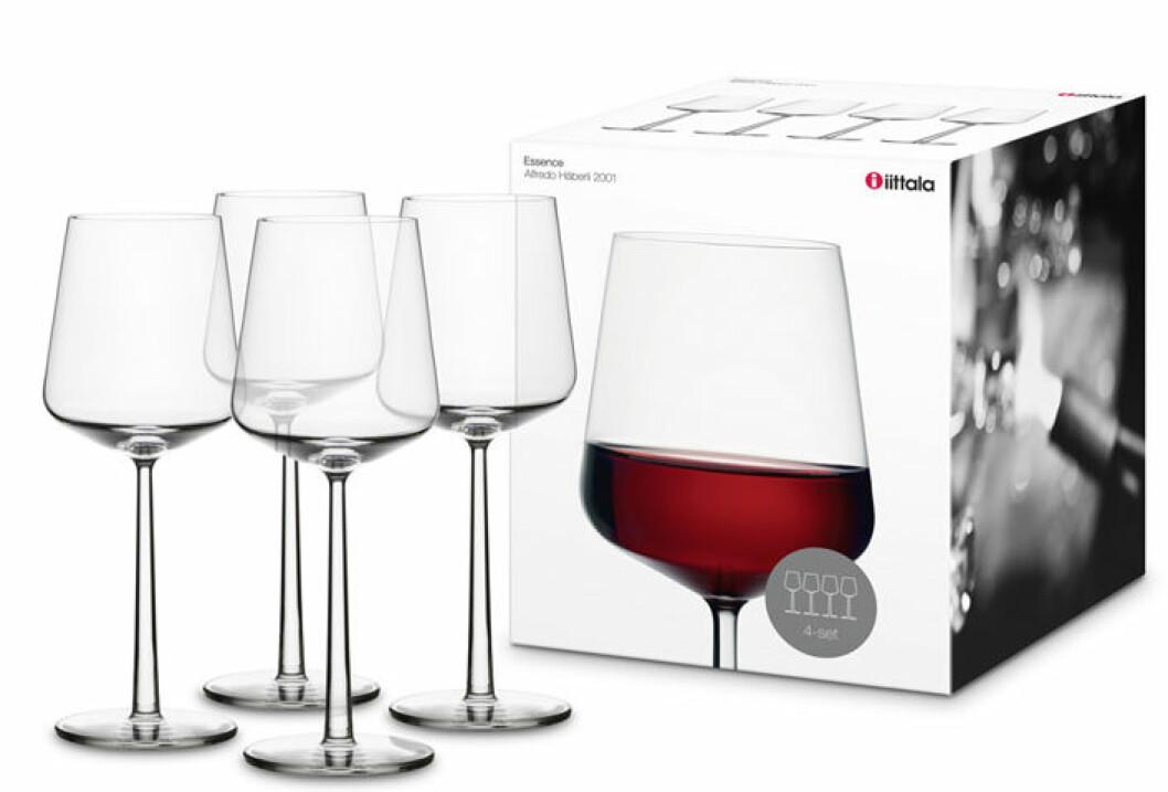 rödvin glas ittala