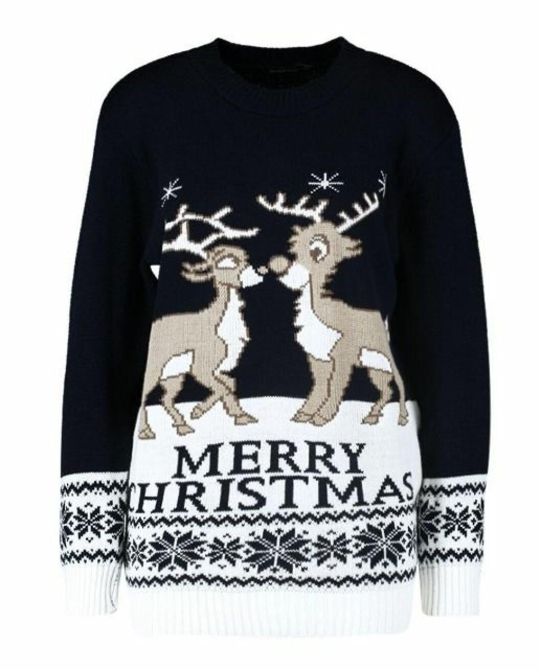 Fulsnygg jultröja med renar