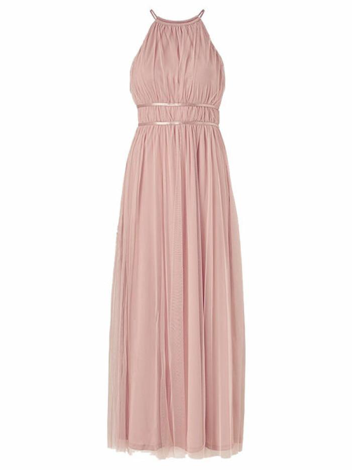 rosa balklänning