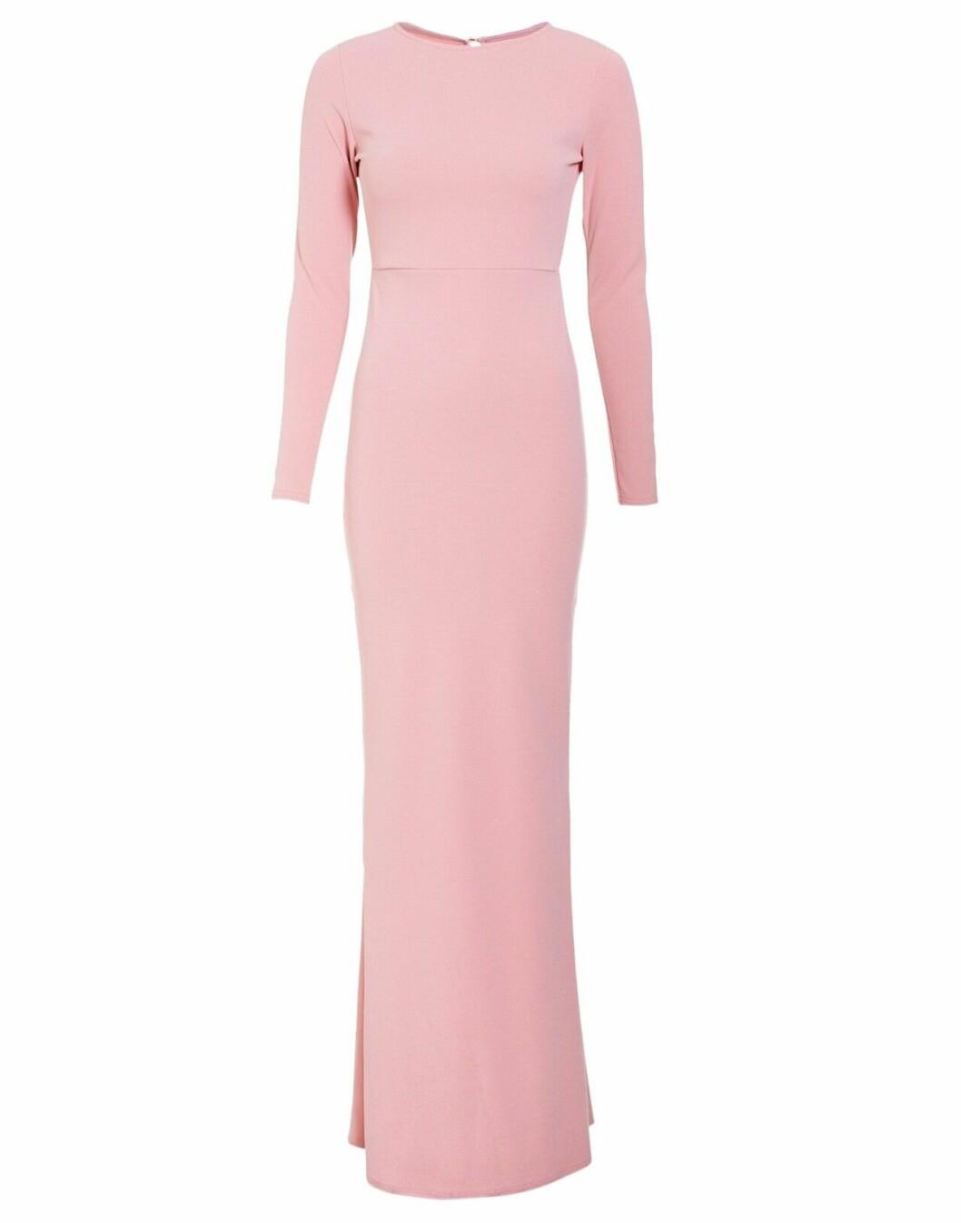 Rosa maxiklänning till sommaren 2019