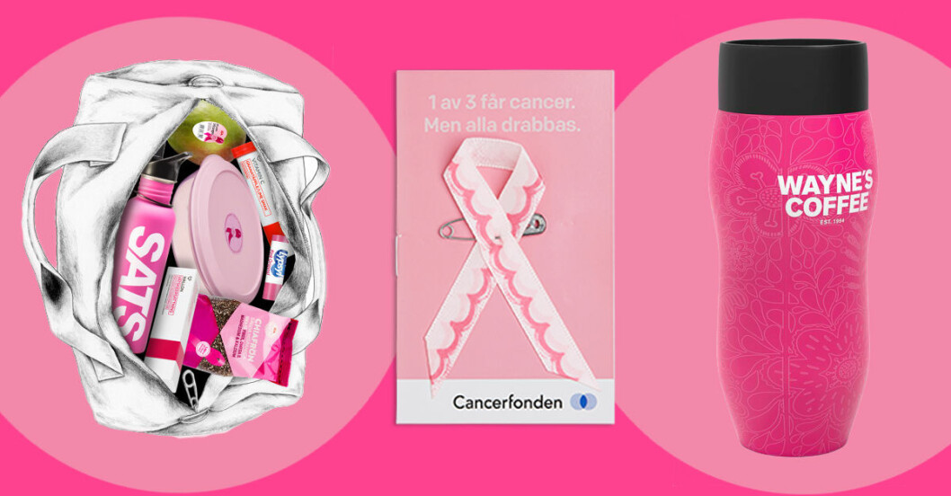 rosa bandet produkter 2016