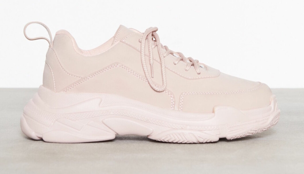 Rosa chunky sneakers