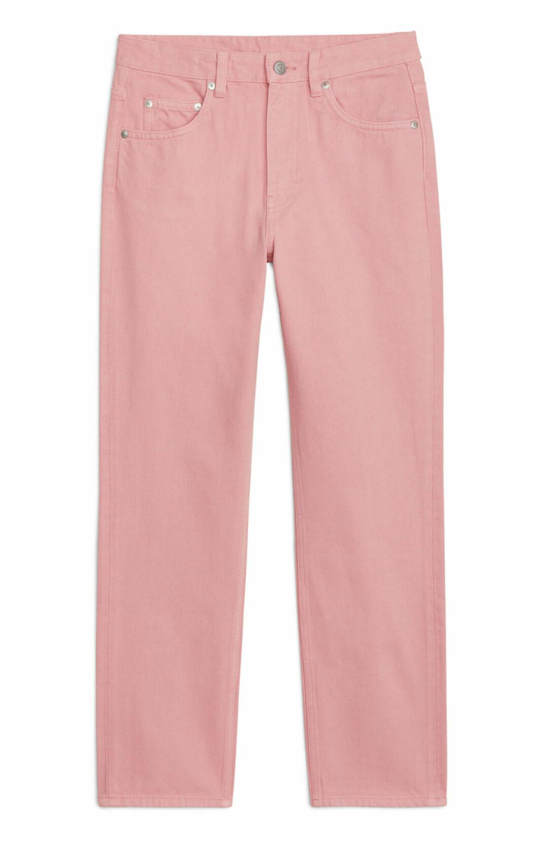 Rosa jeans för dam till våren 2019