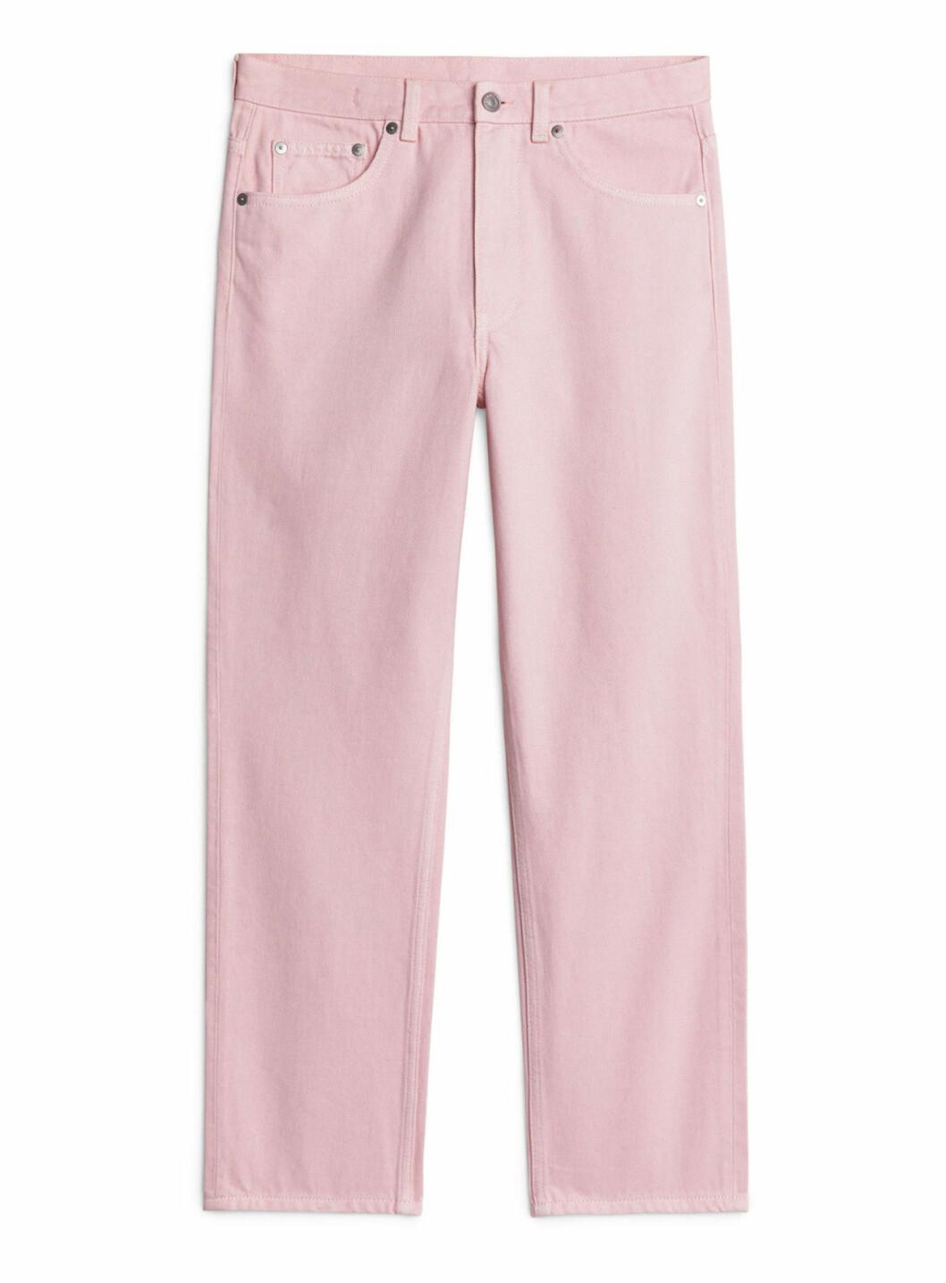 Rosa jeans till hösten 2018