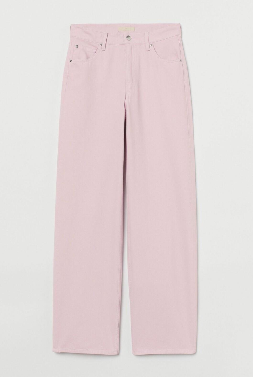 Rosa vida jeans för dam till våren 2020