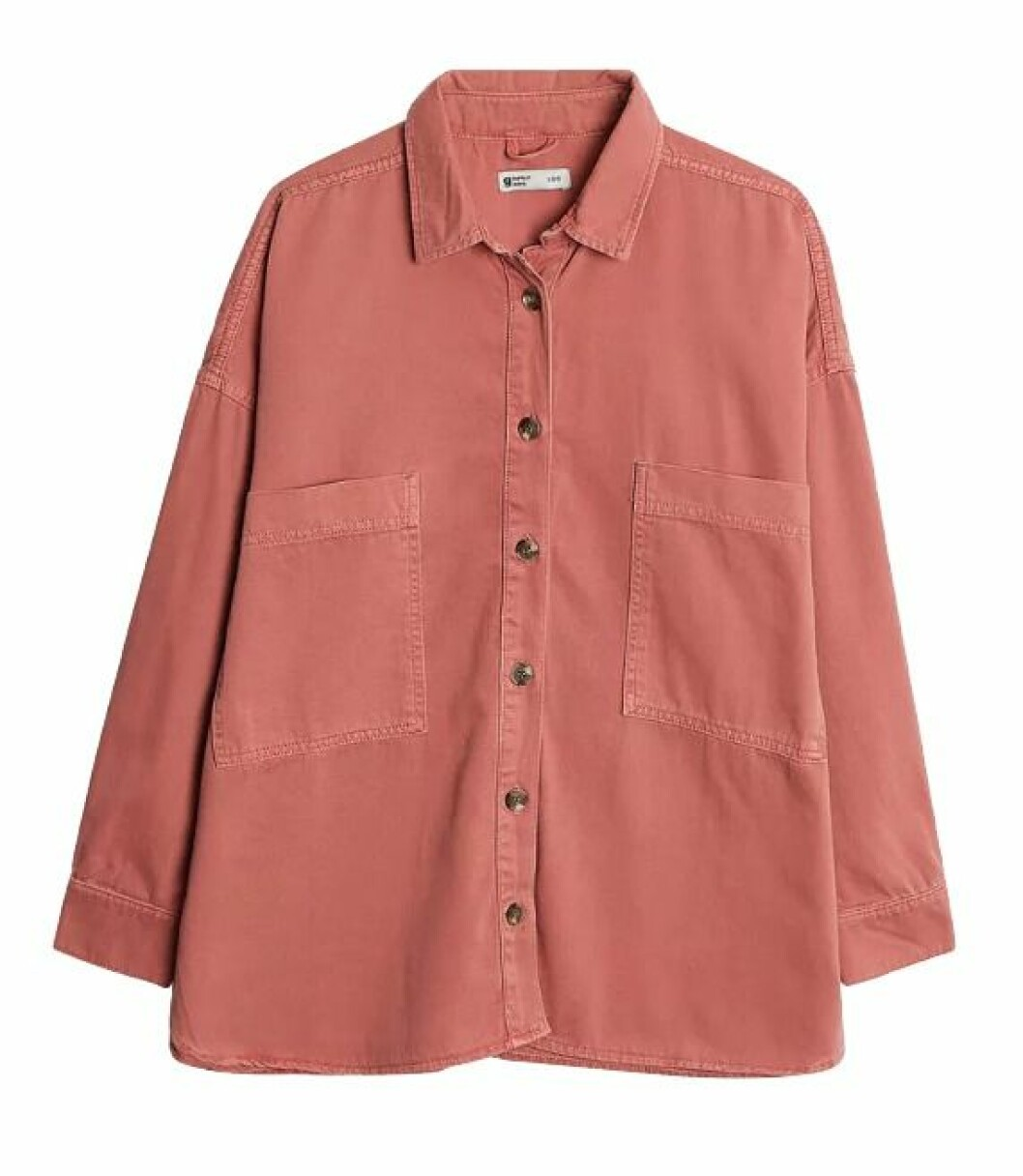 Rosa jeansskjorta för dam till 2019