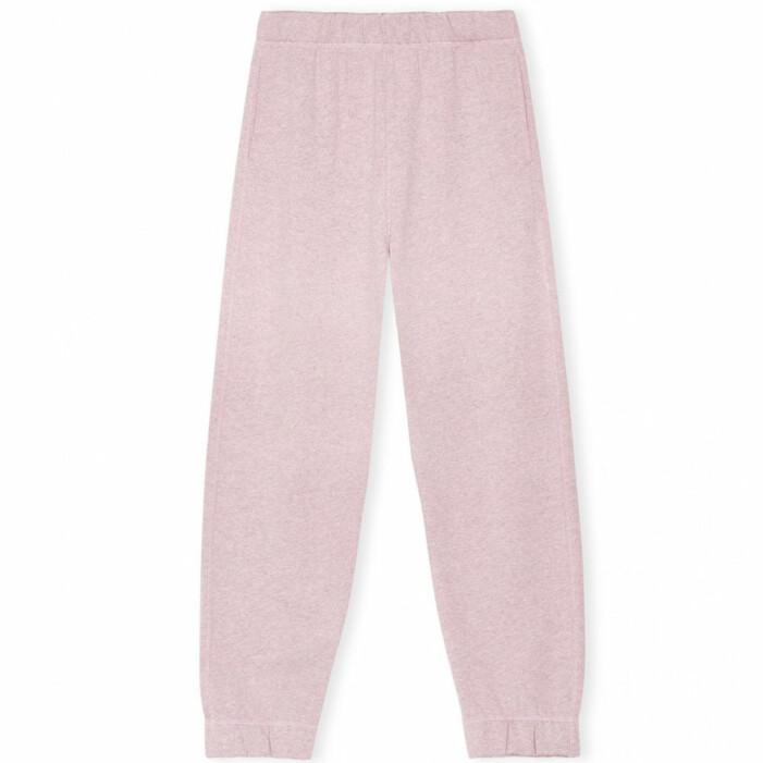 rosa joggers ganni