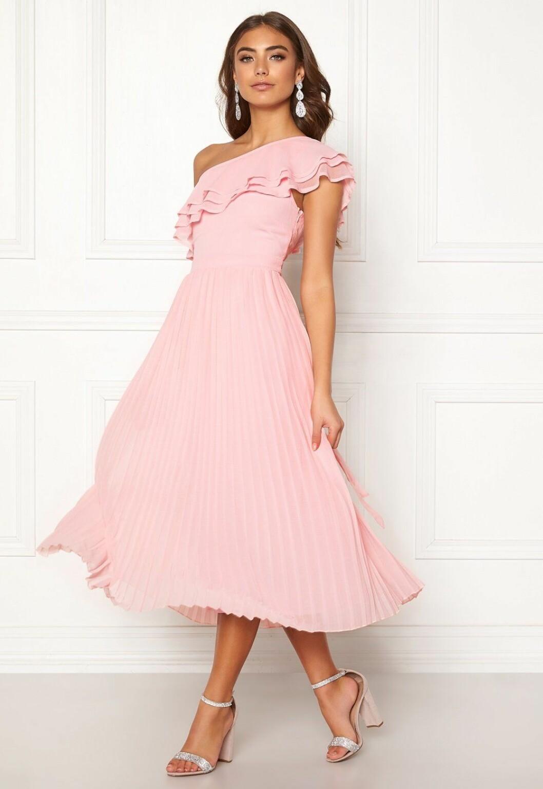 Rosa billig klänning till bröllop för dam till 2019