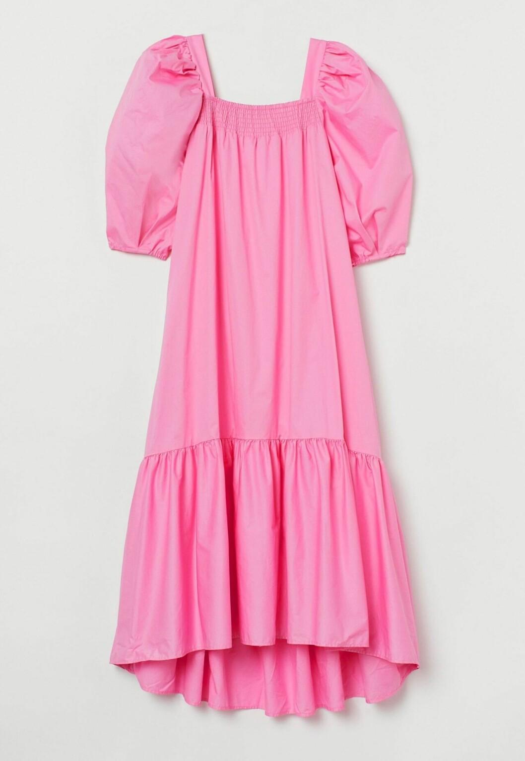 Rosa klänning från H&M som syns överallt på Instagram