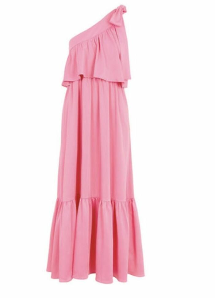 ceriserosa klänning från Yas