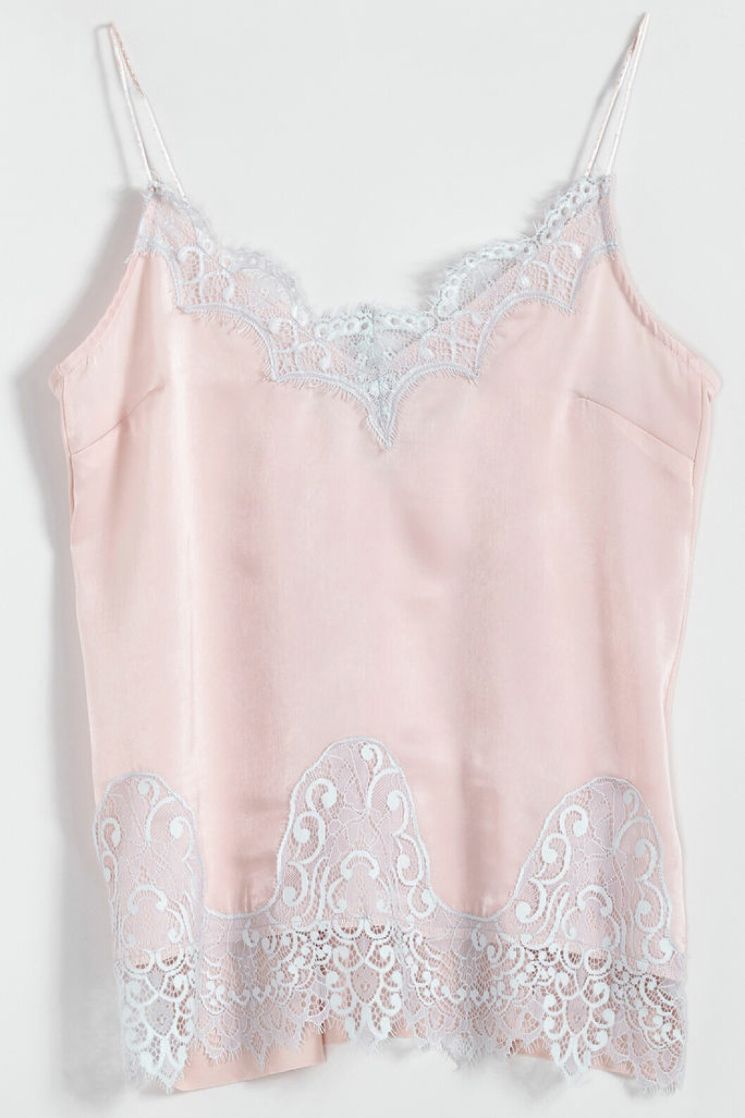 rosa linne spets