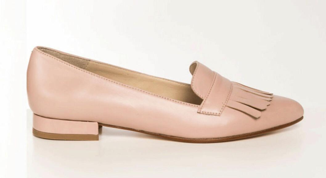 Rosa loafers till hösten